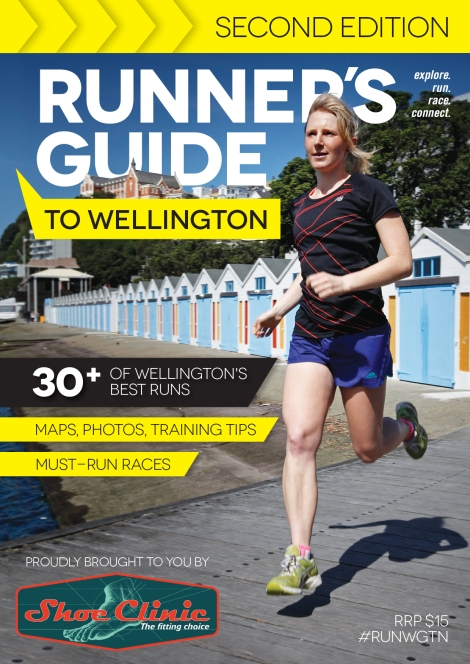 Runner's Guide to Wellington: Second Edition Cover