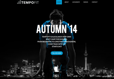 Tempofit Website