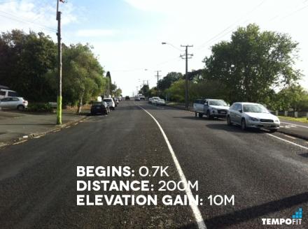 Auckland Marathon Hill 2