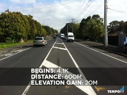 Auckland Marathon Hill 5