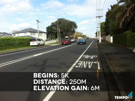 Auckland Marathon Hill 6