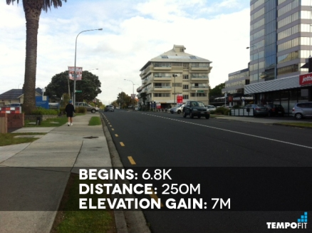 Auckland Marathon Hill 7