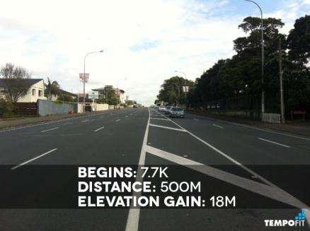 Auckland Marathon Hill 8