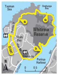 Whitireia Park_map