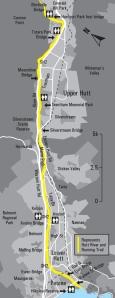 Hutt River Trail Map