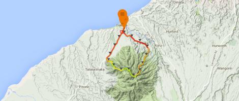 Kaitake Map