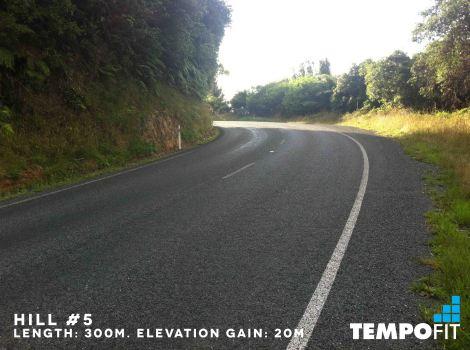 Rotorua Marathon - Hill_5